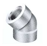 Threaded Elbow 45 exporter, Threaded Elbow 45 suppliers india, Threaded Elbow 45 stockist